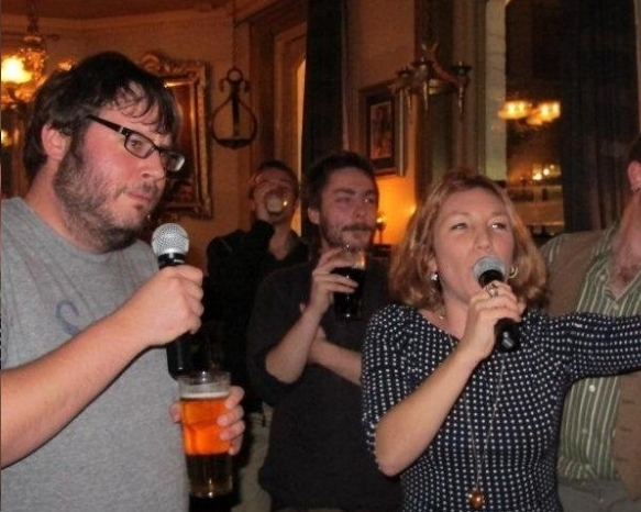 Karaoke at The Burlington Arms