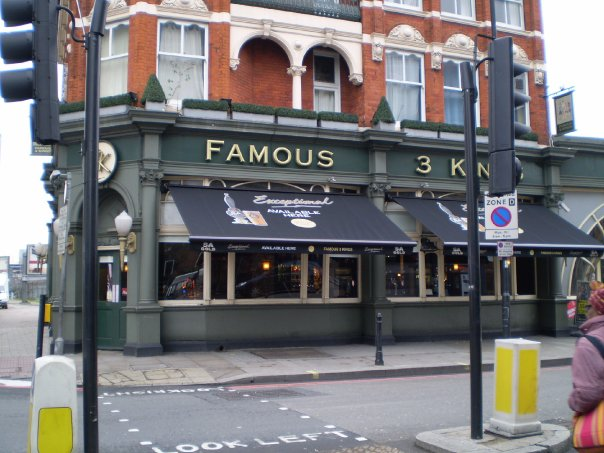 Famous Three Kings The Best Sports Bars In London