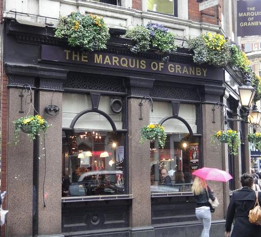 marquis of granby pub rathbone street soho london reviews