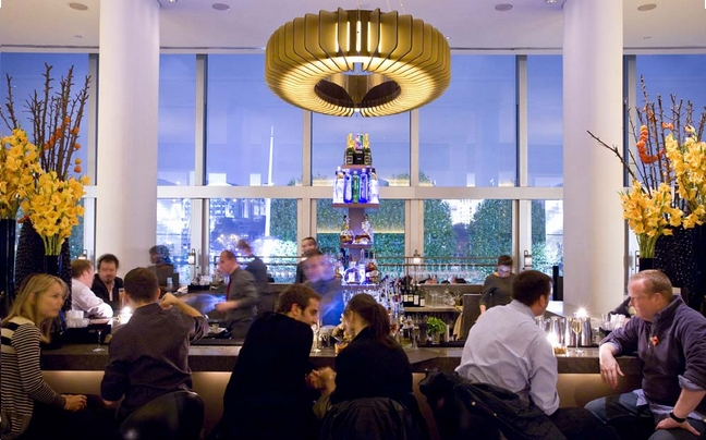 Skylon Bar And Restaurant Southbank Belvedere Road Review London DesignMyNight