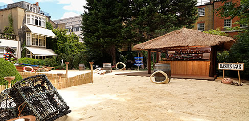 Beeston Place Outdoor Beach Bar