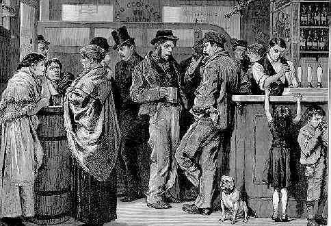 Worship Street Whistling Shop 19th Century Shoreditch Gin Palace