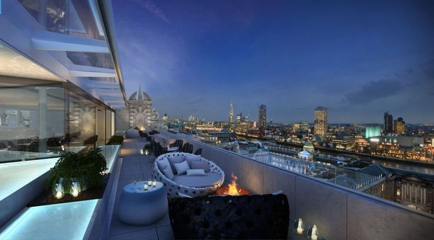 ME London's Rooftop Terrace Bar ME London'€™s Rooftop Terrace Bar