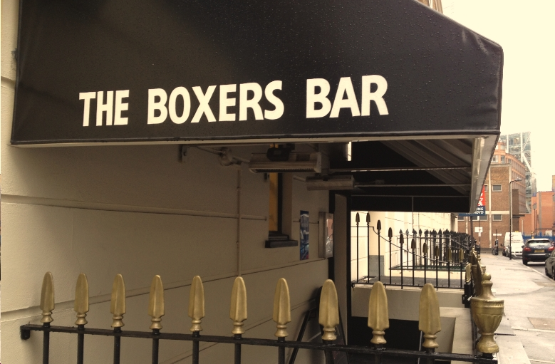 The Boxers Bar Dedicated Boxing Bar Shoreditch
