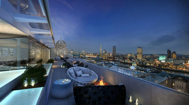Radio rooftop bar the strand london bar reviews for The terrace bar