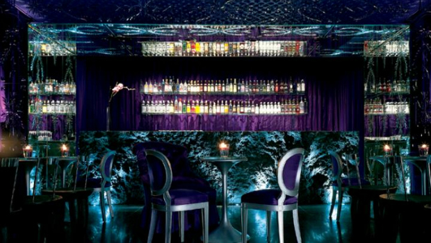 Purple Bar Sanderson Hotel photo