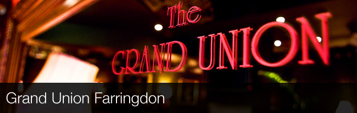 Grand Union Farringdon Chilled Farringdon Pub