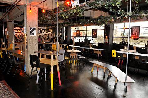 Edgy Basement Bar Hoxton