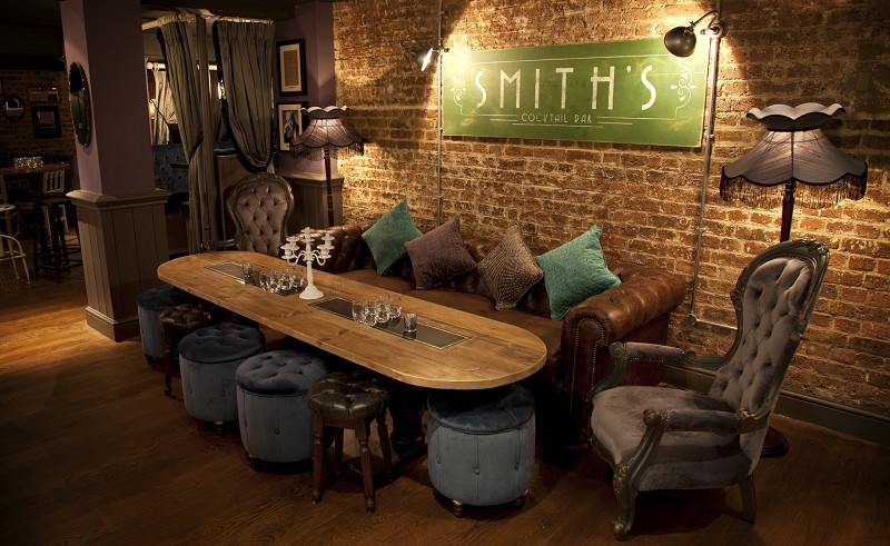 Smith's Cocktail Bar Vintage Cocktails in Hammersmith