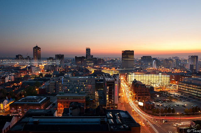 Rooftop bars manchester bars with a view in manchester for Terrace nq manchester