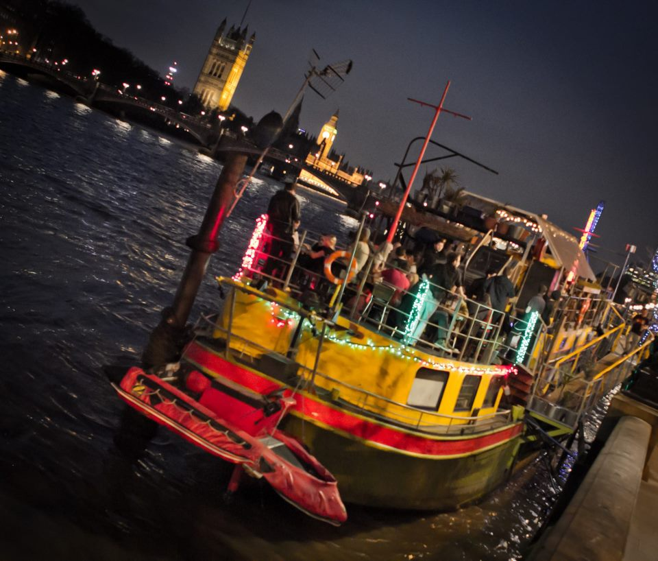 Halloween Ghost Ship Boat Party @ Tamesis Dock, Vauxhall