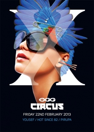Circus London @ Egg London Line Up