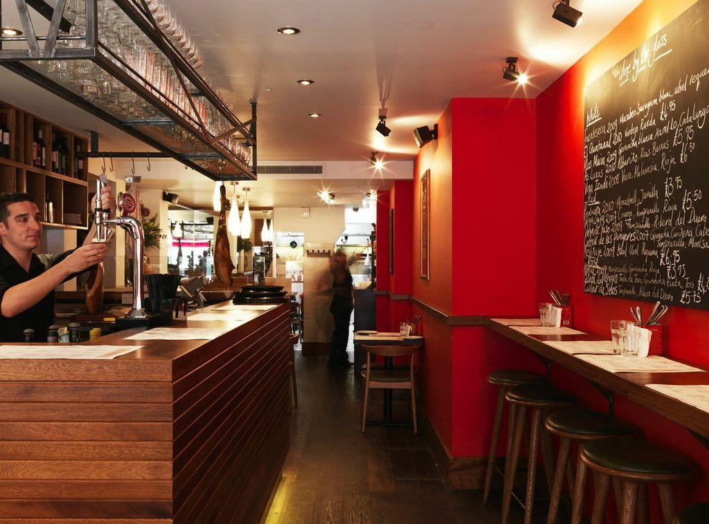 Central London Tapas Restaurants
