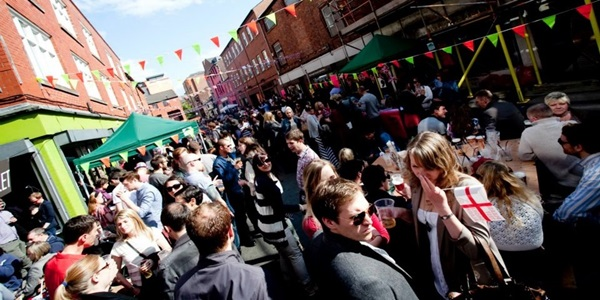 edge street party manchester 1