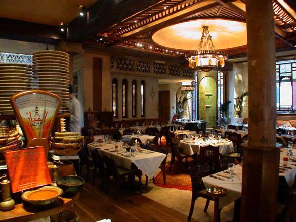 Momo Kemia Restaurant Bar Heddon Street Mayfair London