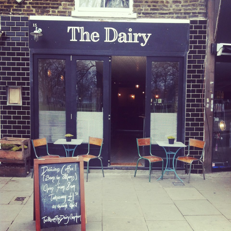 the dairy bar and bistro clapham