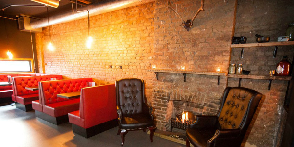 Southsider Cocktail Club inside