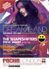 Saturday Dreamland presents The Shapeshifters