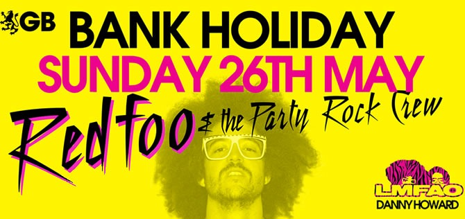 Red Foo and The Party Rock Crew