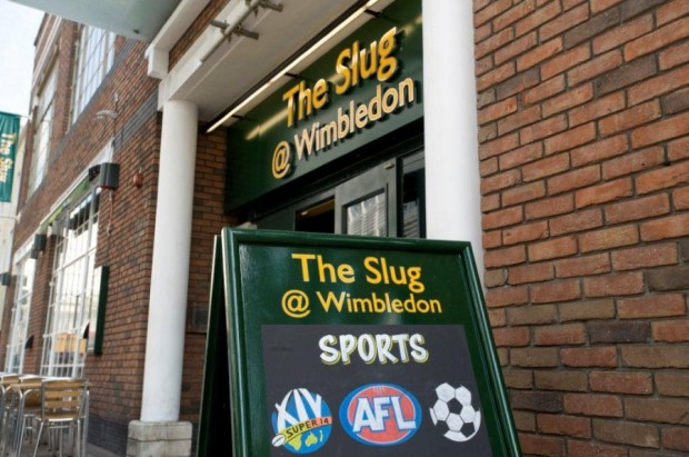 The Slug at Wimbledon photo