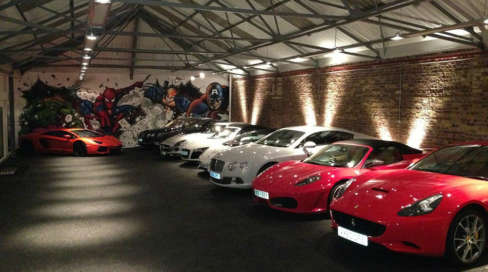 Supercar Clubhouse St John S Wood Private Hire In