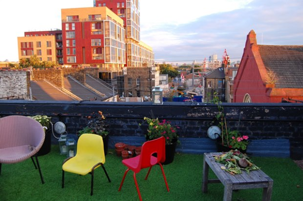 Dalston Roof Park Hackney London Bar Reviews Designmynight