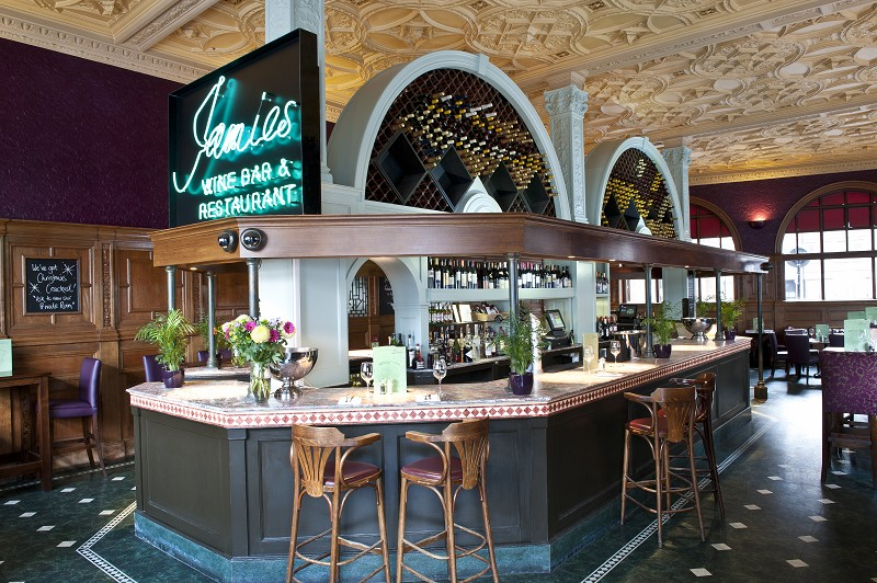 Jamies Ludgate Hill Bar London Wine Bar St Pauls London