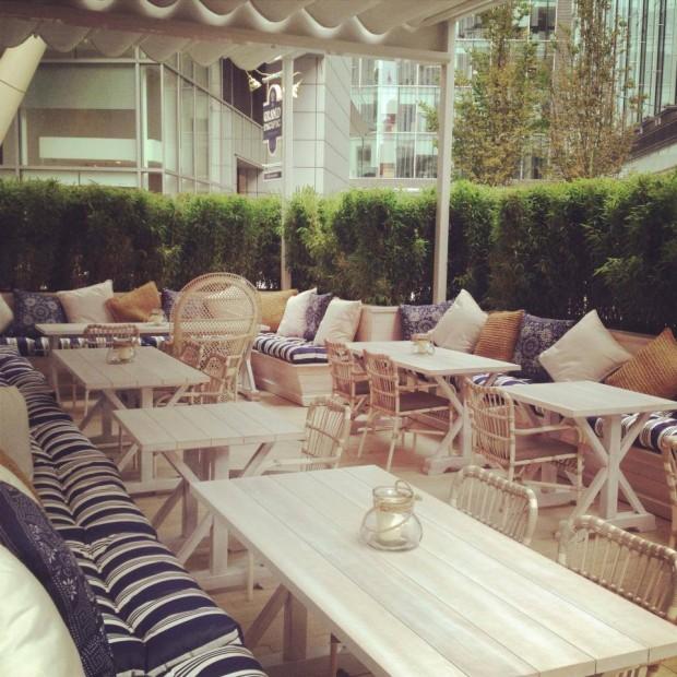 Australasia terrace bar spinningfields manchester bar for Terrace northern quarter