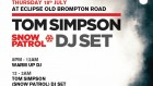 Snow Patrol's Tom Simpson DJ Set