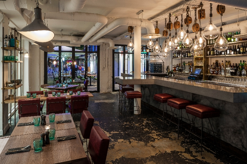 Whyte & Brown New Restaurant Bar Hatched in Soho