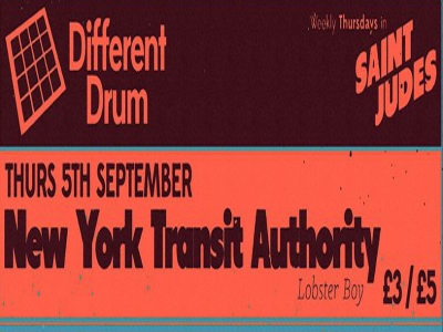 Different Drum presents: New York Transit Authority
