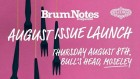 Brum Notes August Launch Party