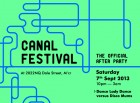 Canal Festival After Party