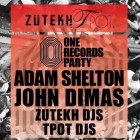 Zutekh Vs Tpot One Records Party