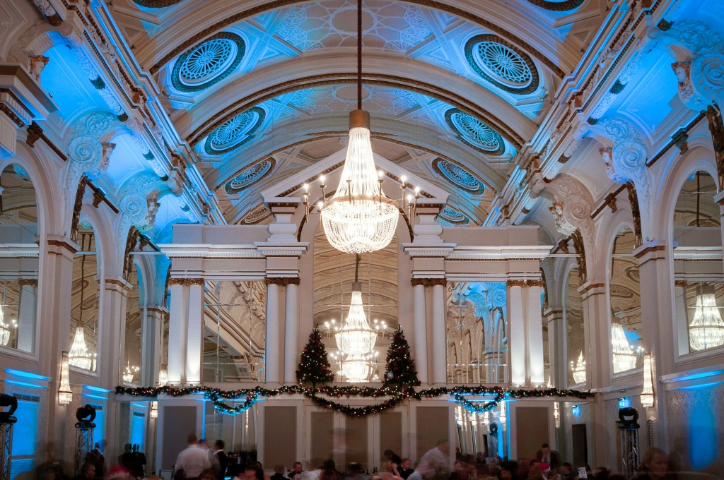 Private christmas party venues in london for Best private dining rooms west end london