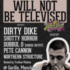 Will Not Be Televised & Gorilla Club with Dirty Dike: Boom Bap Festival Warm Up
