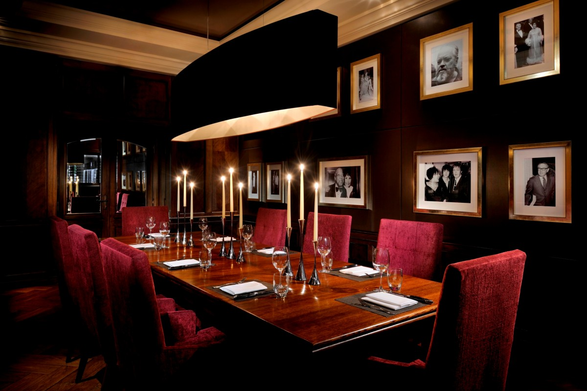 Steaksecret food experience at jw steakhouse designmynight for Best private dining rooms west end london