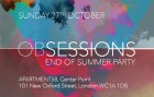 Obsessions // End Of Summer Party