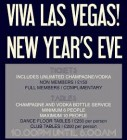 Viva Las Vegas! New Year's Eve
