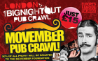 Movember Pub Crawl