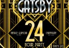The Great Gatsby 24 Hour NYE Party