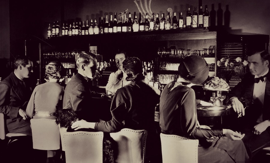 The Fitzgerald 1920s Secretive Speakeasy