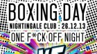 Boxing Day at Nightingale