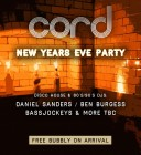 New Year's Eve at Cord!