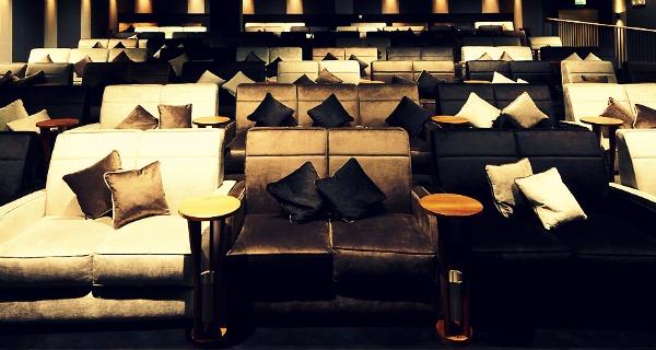 New Everyman Cinema Mailbox Bar Birmingham Designmynight. Cinemas With Sofas Manchester ...