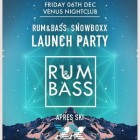 Rum & Bass | Snow Boxx launch Party