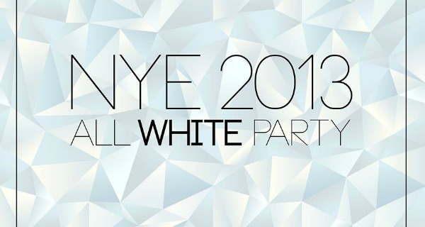 NYE 2013: All White Party
