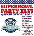 UMSU Super Bowl Party