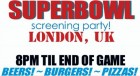 Super Bowl Screening Party