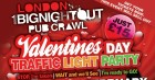 Valentine's Day Traffic Light Party